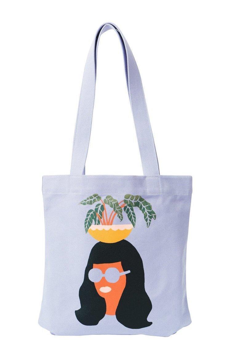 Pineapple Girl Tote Bag | Trada Marketplace