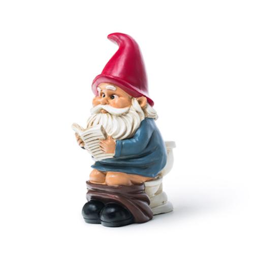 BigMouth Garden Gnome On A Throne   Trada Marketplace