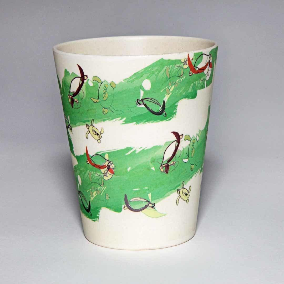 Green Turtle Cup - set of 4 pcs | Trada Marketplace