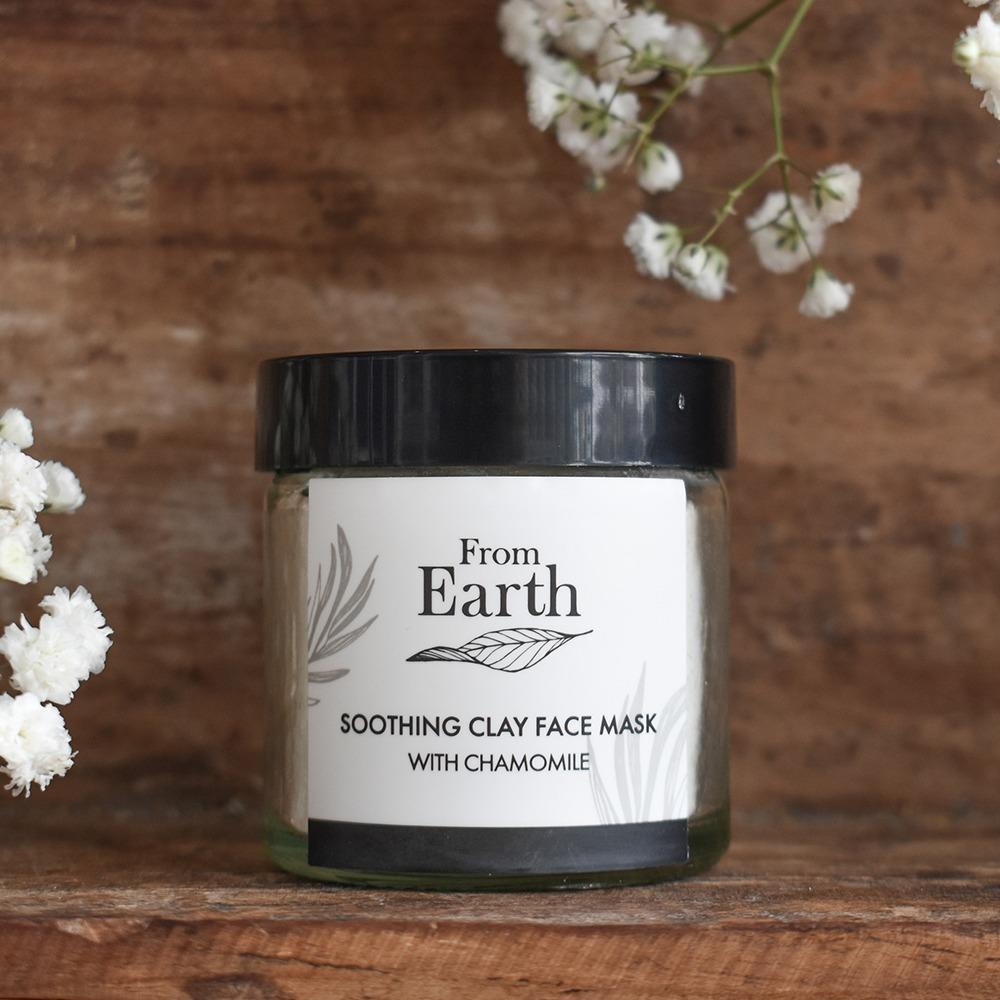 Soothing Clay Face Mask   Trada Marketplace