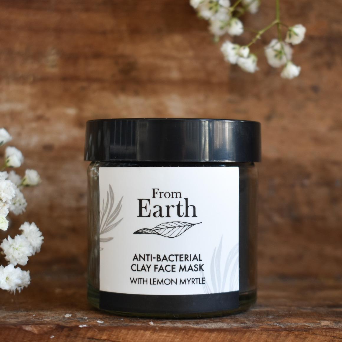 Anti-Bacterial Clay Face Mask   Trada Marketplace