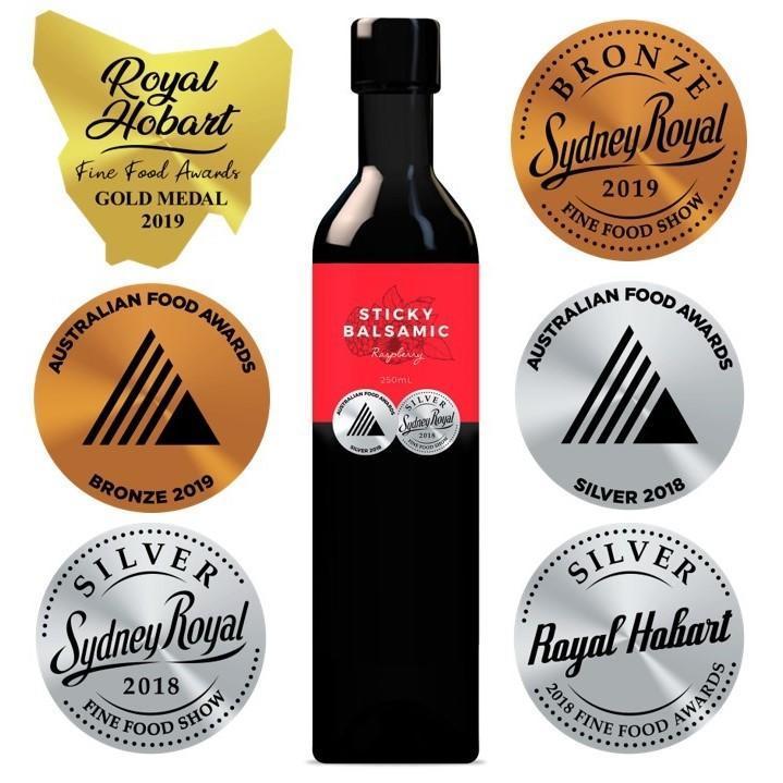 Sticky Balsamic Premium Raspberry   Trada Marketplace