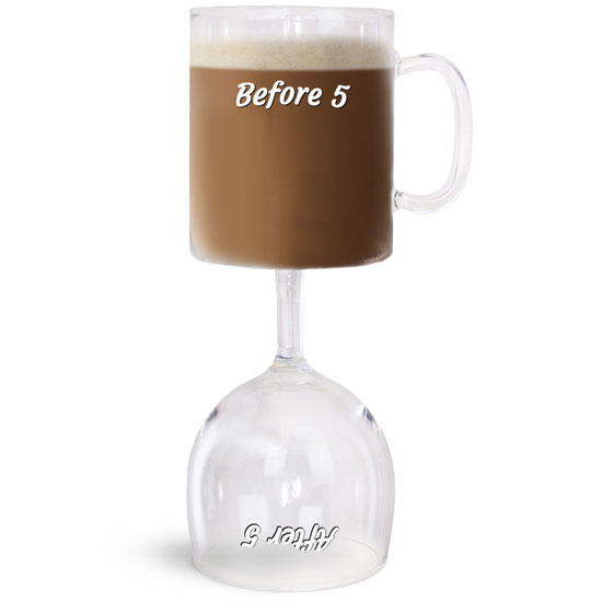BigMouth Before & After 5 Coffee & Wine Glass   Trada Marketplace