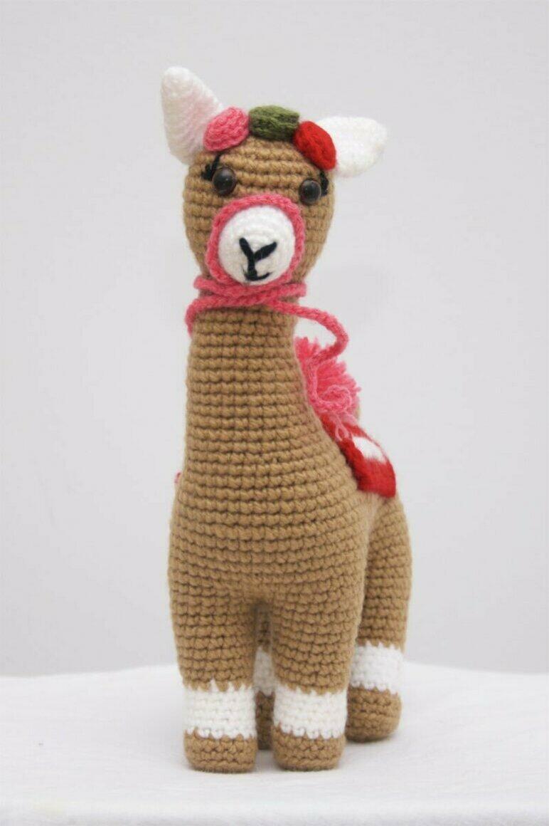 CROCHET DOLL - Little Alpaca Brown | Trada Marketplace