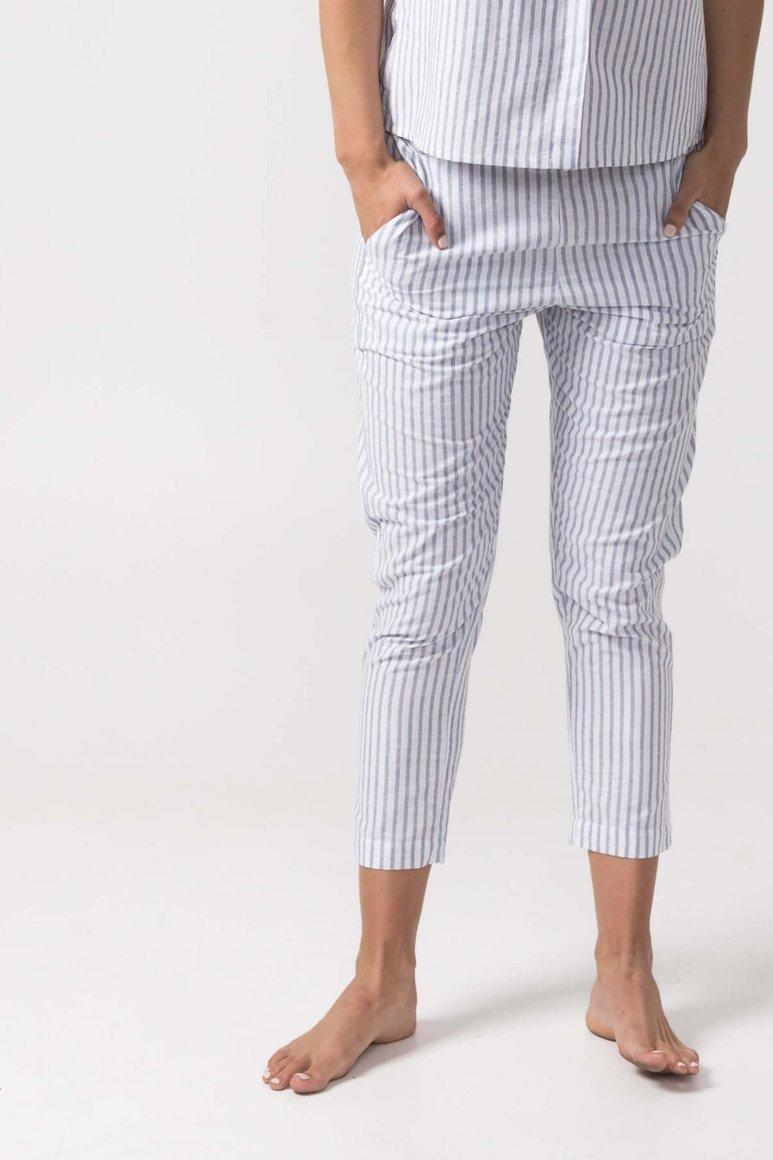 The Wilma Pant Blue Stripe   Trada Marketplace