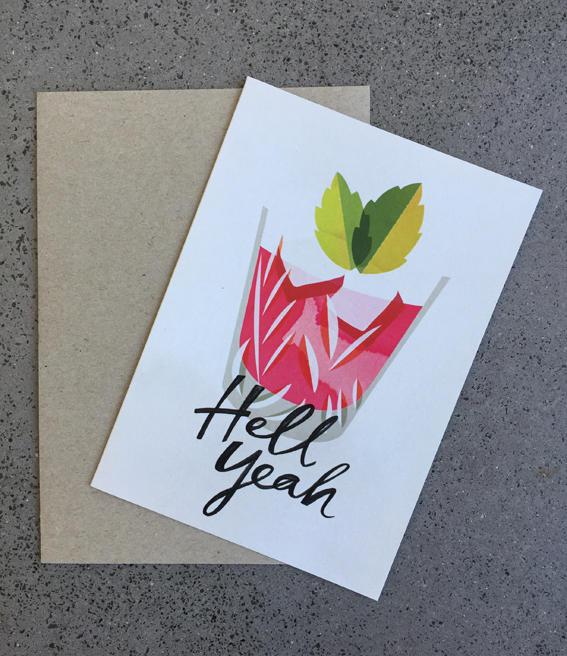 Hell Yeah Card | Trada Marketplace