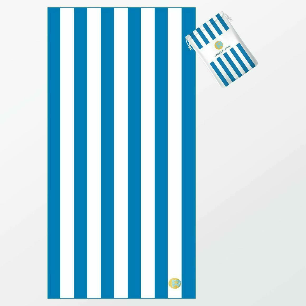 RC Stripes - Caribbean Blue   Trada Marketplace