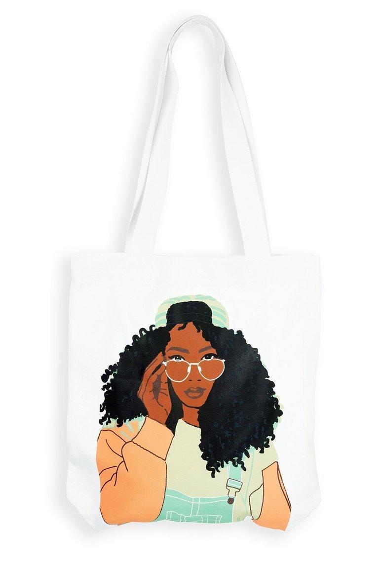 Dungaree Girl Tote Bag | Trada Marketplace