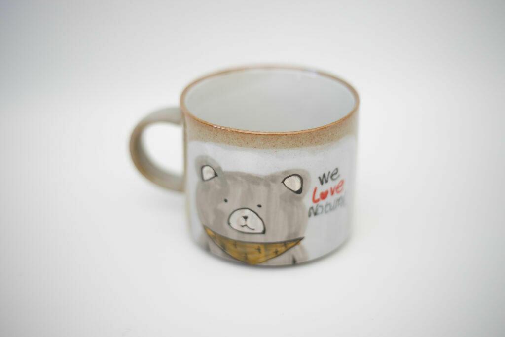 We Love Natural Mug-Bear   Trada Marketplace