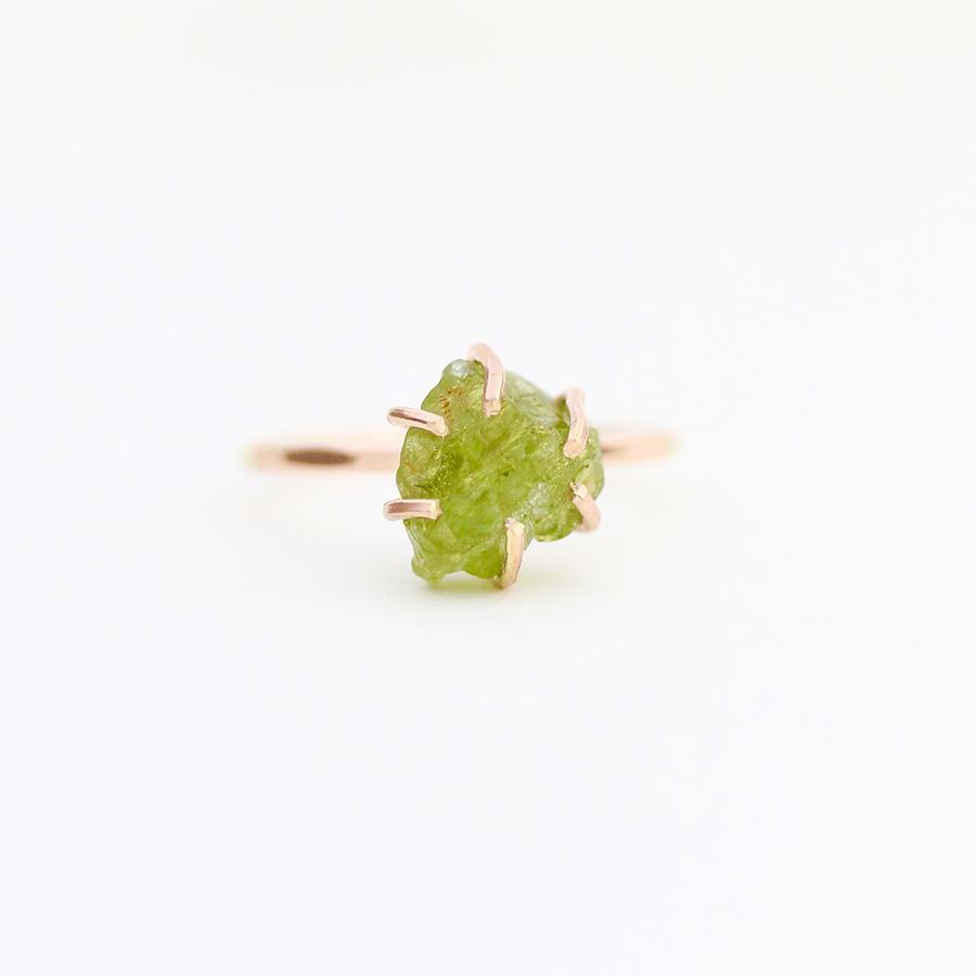 Peridot Ring Gold Filled | Trada Marketplace