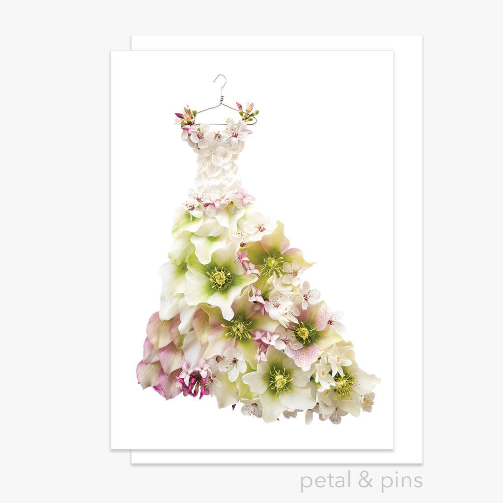 springtime dress greeting card | Trada Marketplace