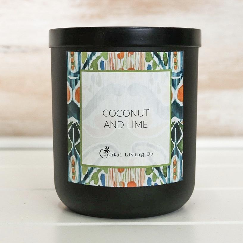 Coconut and Lime 280g Standard Black | Trada Marketplace