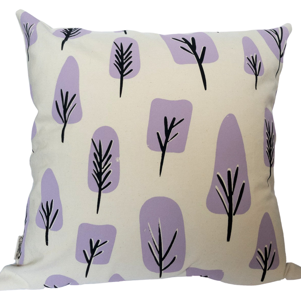Abstract Tree Screen Printed, Hand Crafted Cushion- 3 colour ways-Cover and Insert | Trada Marketplace