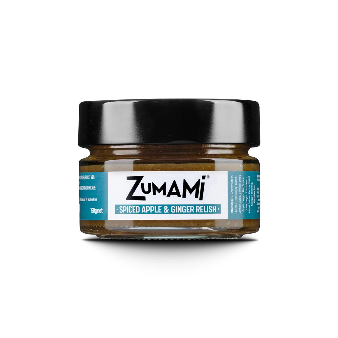 ZUMAMI - Spiced Apple & Ginger Relish | Trada Marketplace