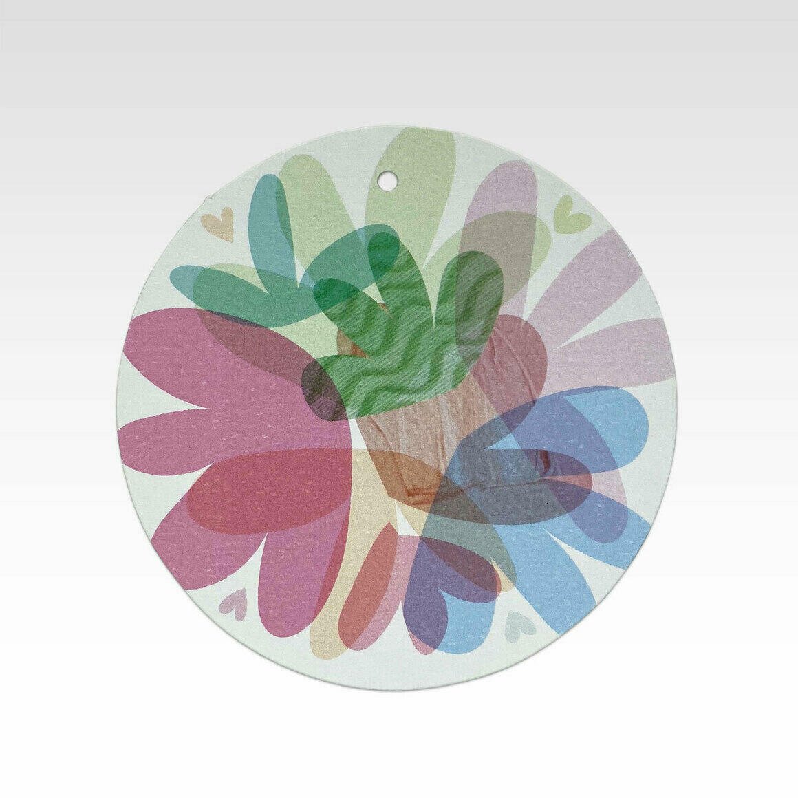 TAG077 – Quirky Coloured Flowers   Trada Marketplace