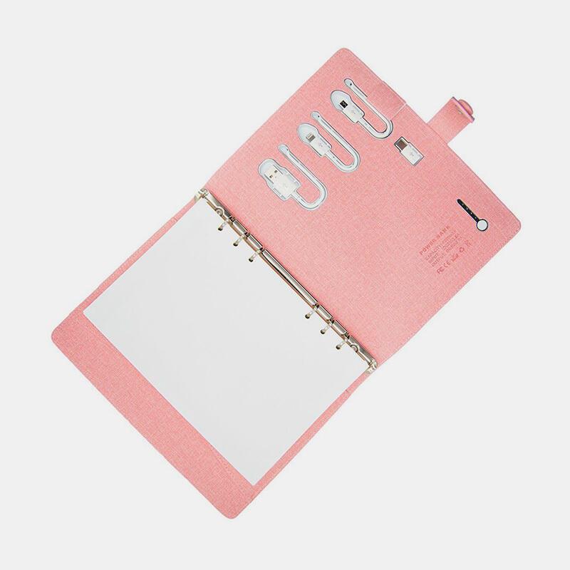 PowerBank Notebook Case - Lady Pink | Trada Marketplace