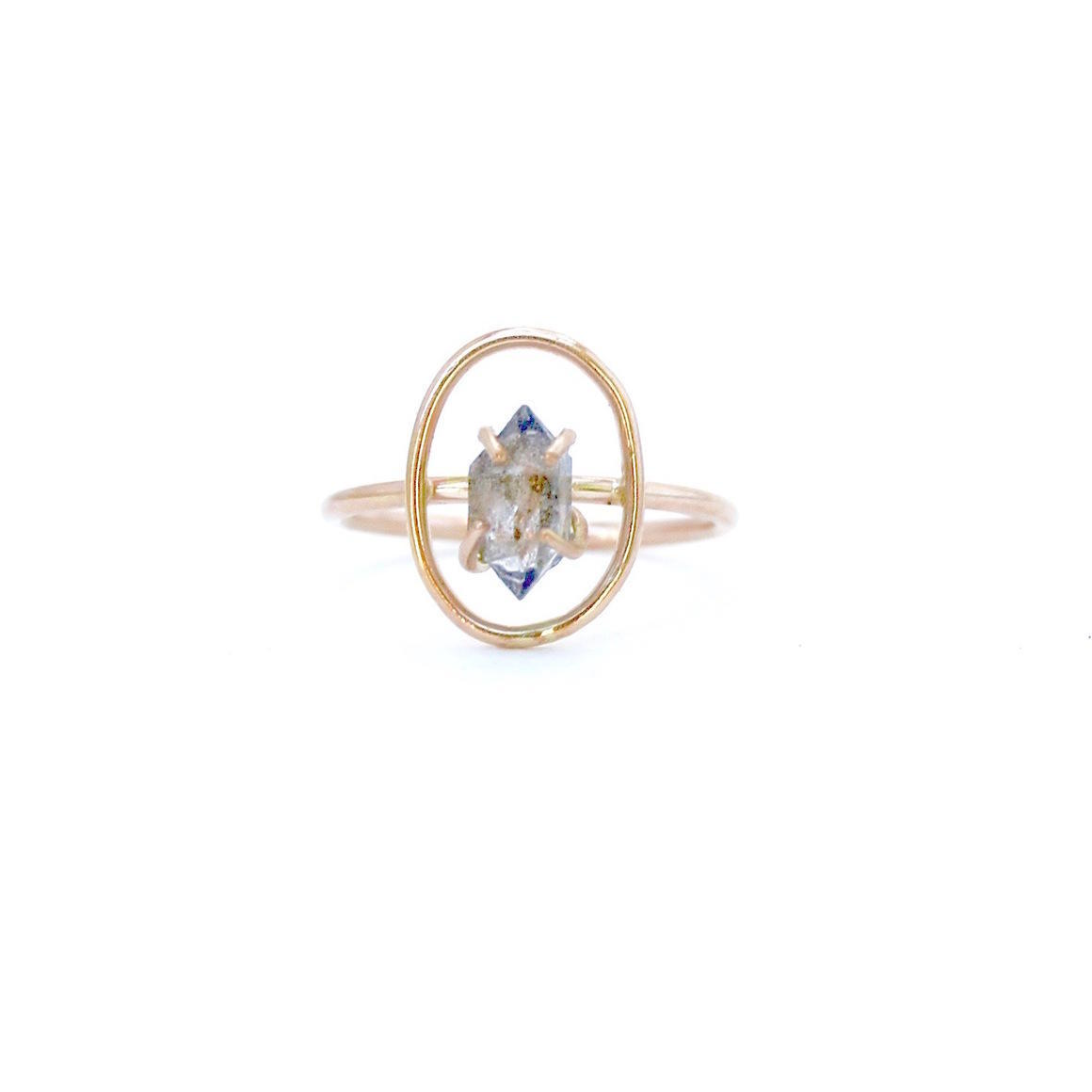 Halo Ring Gold Filled | Trada Marketplace