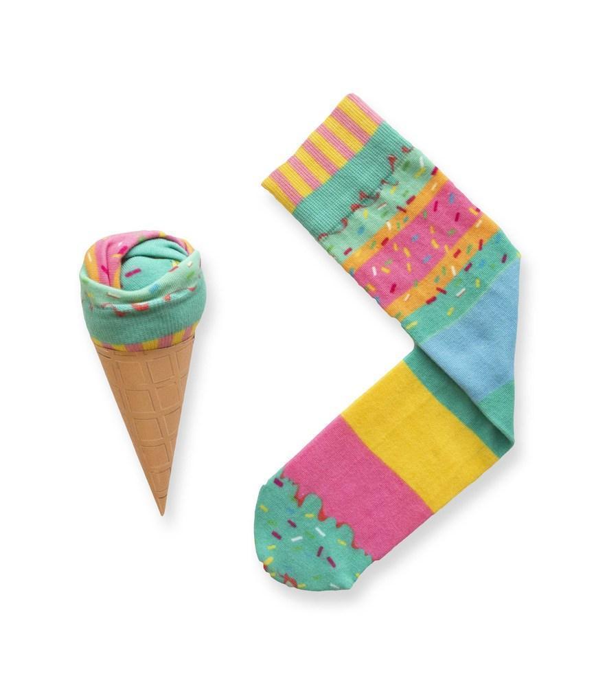 Ice Cream Socks Rainbow | Trada Marketplace