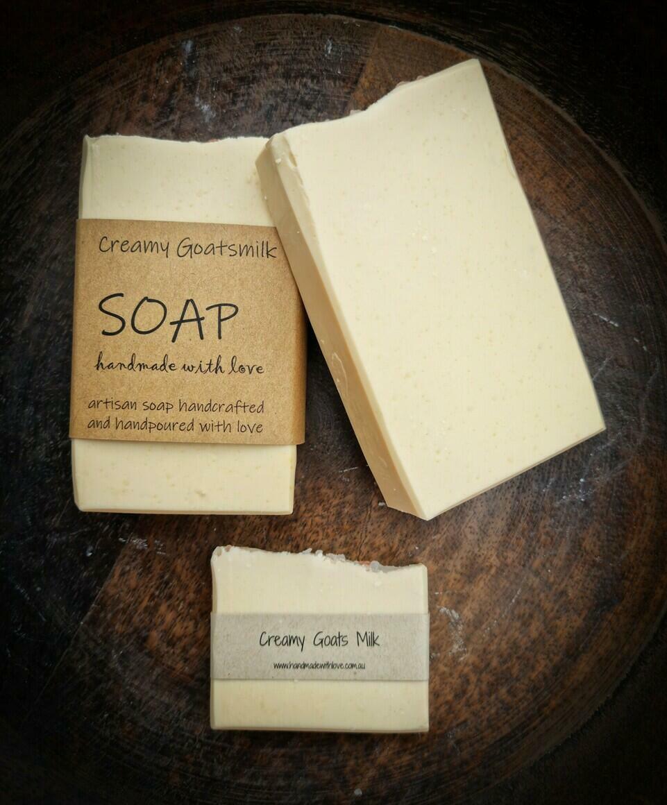 Creamy Goats Milk Soap | Trada Marketplace