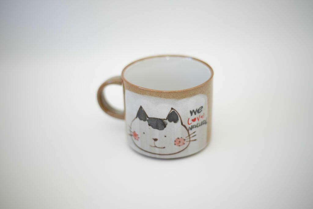 We Love Natural Mug-cat   Trada Marketplace