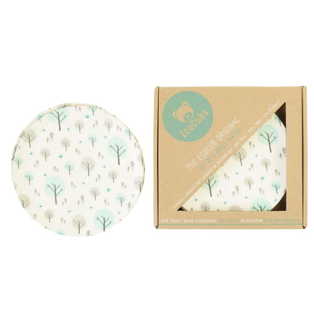 Set of 4 Small Plates | Trada Marketplace