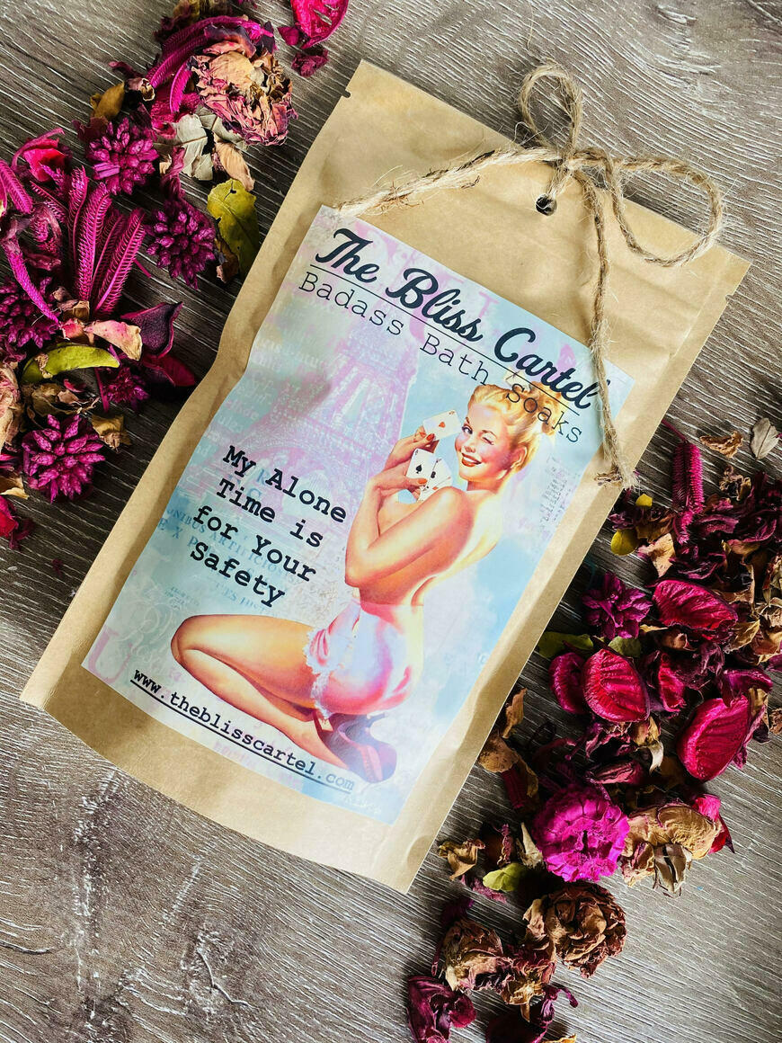 My Alone Time is for your Safety Bath Soak | Trada Marketplace