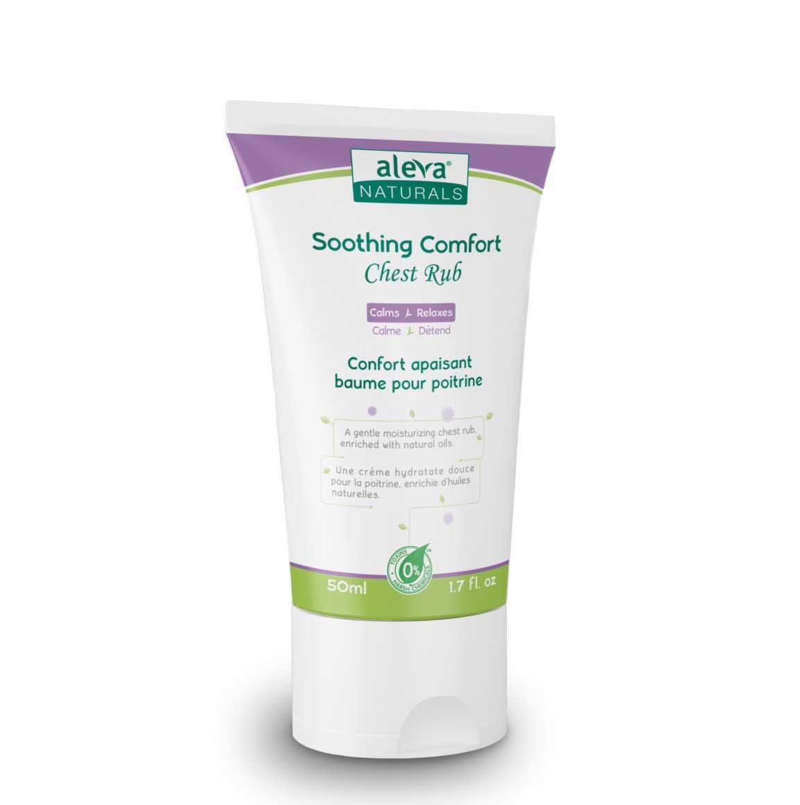 Aleva Natural Soothing Comfort Chest Rub- 1.7 fl.oz / 50ml | Trada Marketplace