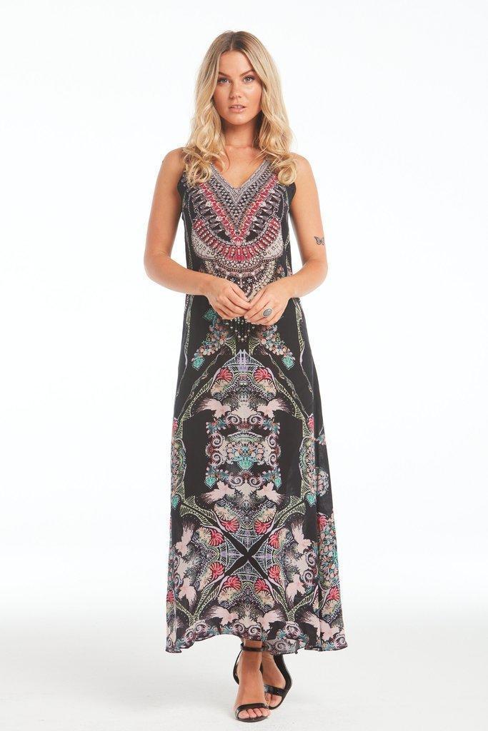 Anastasia Sleeveless Dress with Racer Back | Trada Marketplace