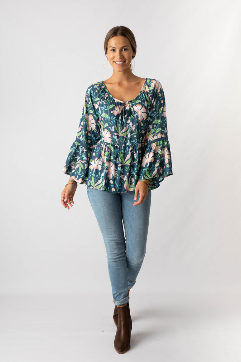 Teal dream blouse (pack of 2) | Trada Marketplace