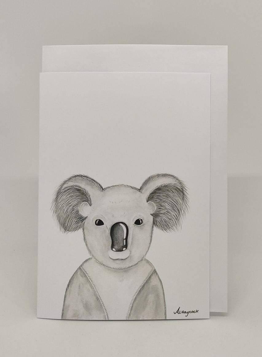 Kevan the Koala Card | Trada Marketplace