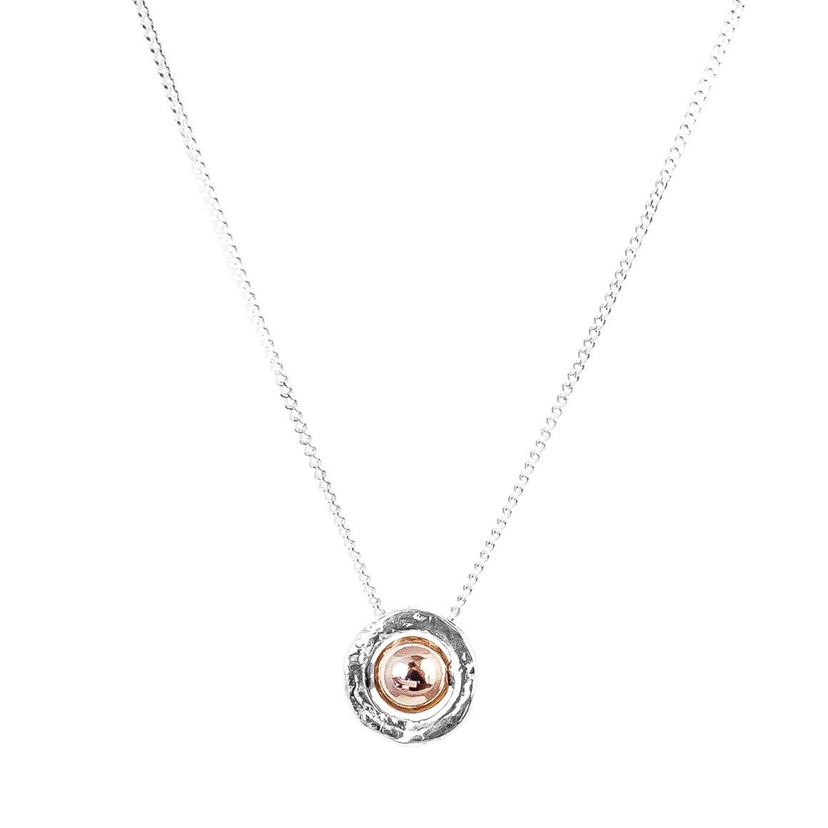 Atticus Fine Necklace | Polished Rose Detail | Trada Marketplace