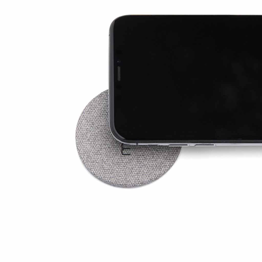 Moon Wireless Charging Pad Fabric Grey | Trada Marketplace