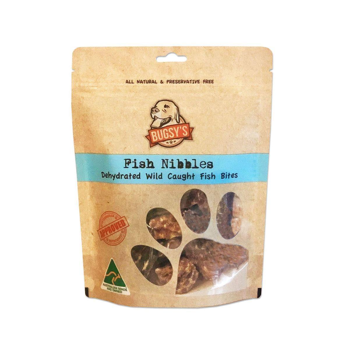 Fish Nibbles | Dehydrated Wild Caught Fish Bites 100g | Trada Marketplace