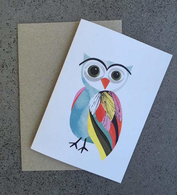 Owl Card | Trada Marketplace