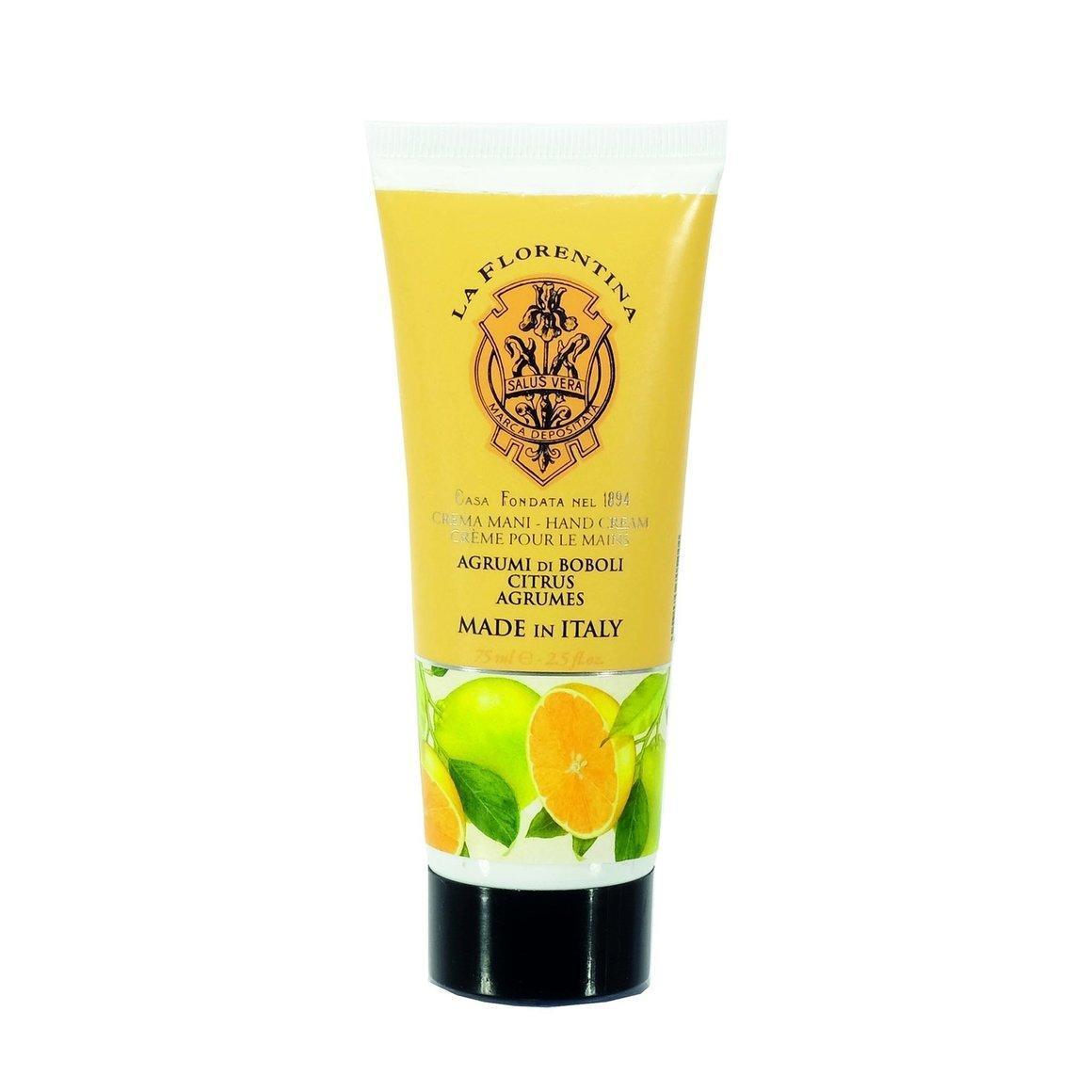La Florentina Boboli Citrus Hand Cream Natural Tuscan Moisturising 75 ml   Trada Marketplace