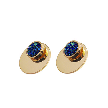 Stars In Their Eyes Blue Studs- Blue | Trada Marketplace