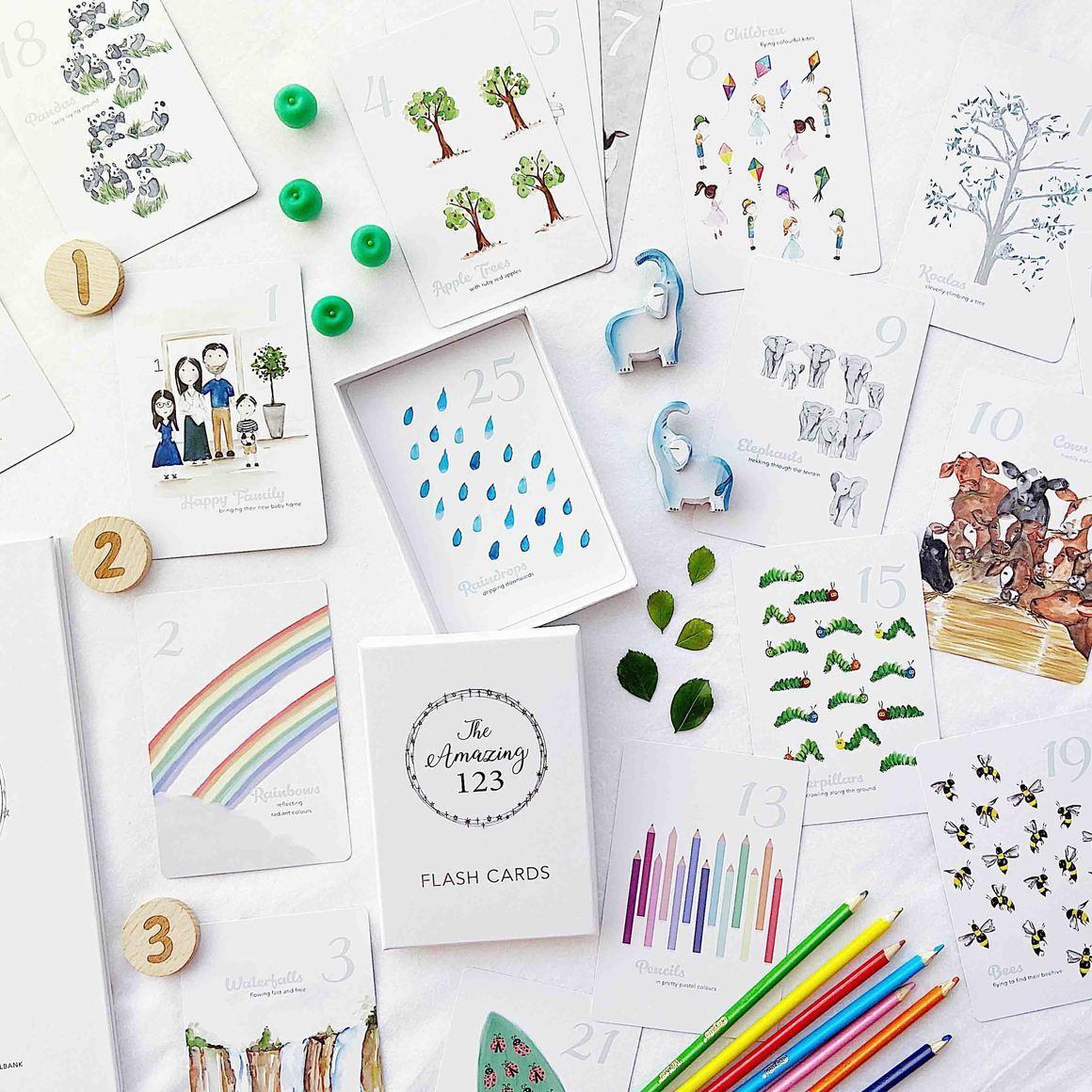 The Amazing 123 Flash Cards | Trada Marketplace