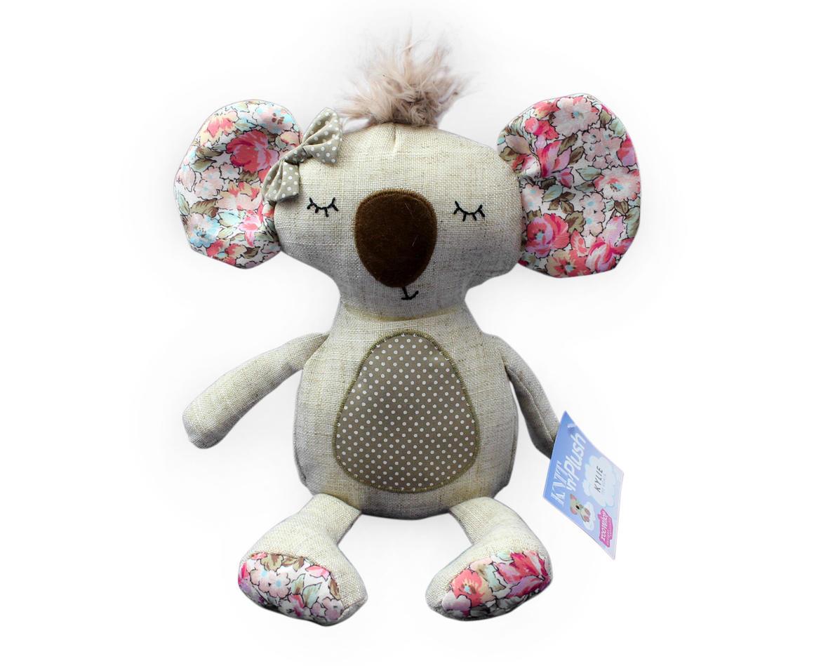Plush Toy Koala - Floral Print    Trada Marketplace