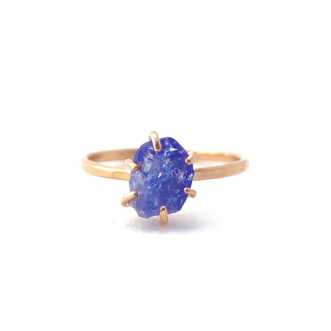 Tanzanite Ring Gold Filled | Trada Marketplace