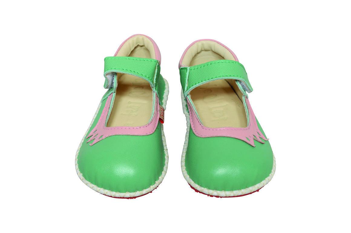 Crown Shoe green/pink   Trada Marketplace