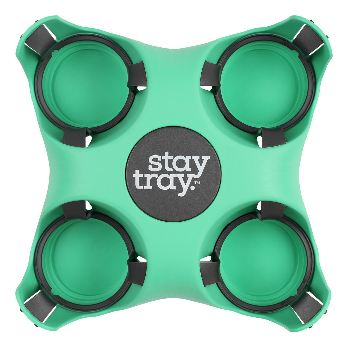 Stay tray Four Cup Holder Minty   Trada Marketplace