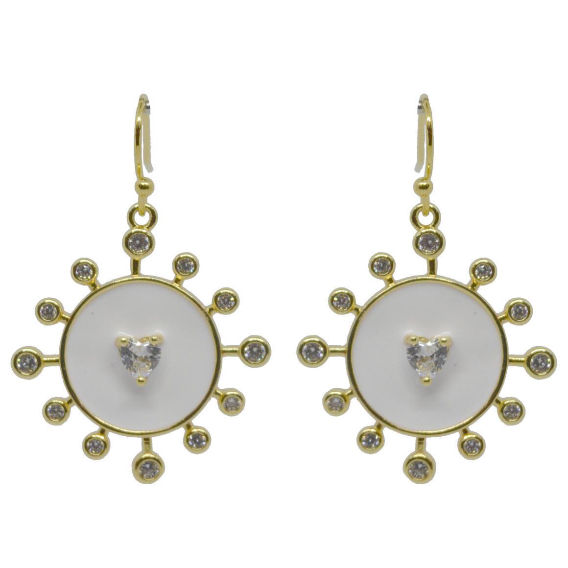 Sunshine Earring White Gold | Trada Marketplace