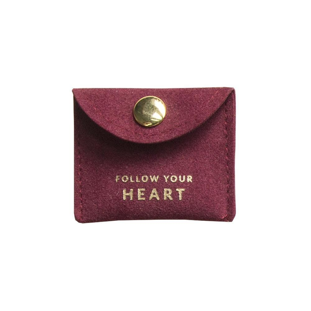Trinket Pouch Heart Red | Trada Marketplace
