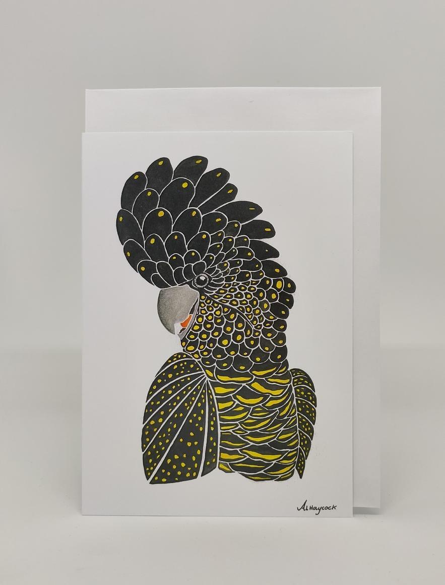 Black Cock Card | Trada Marketplace