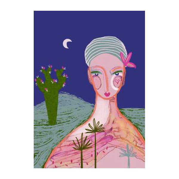 Cactus Moon Prints | Trada Marketplace