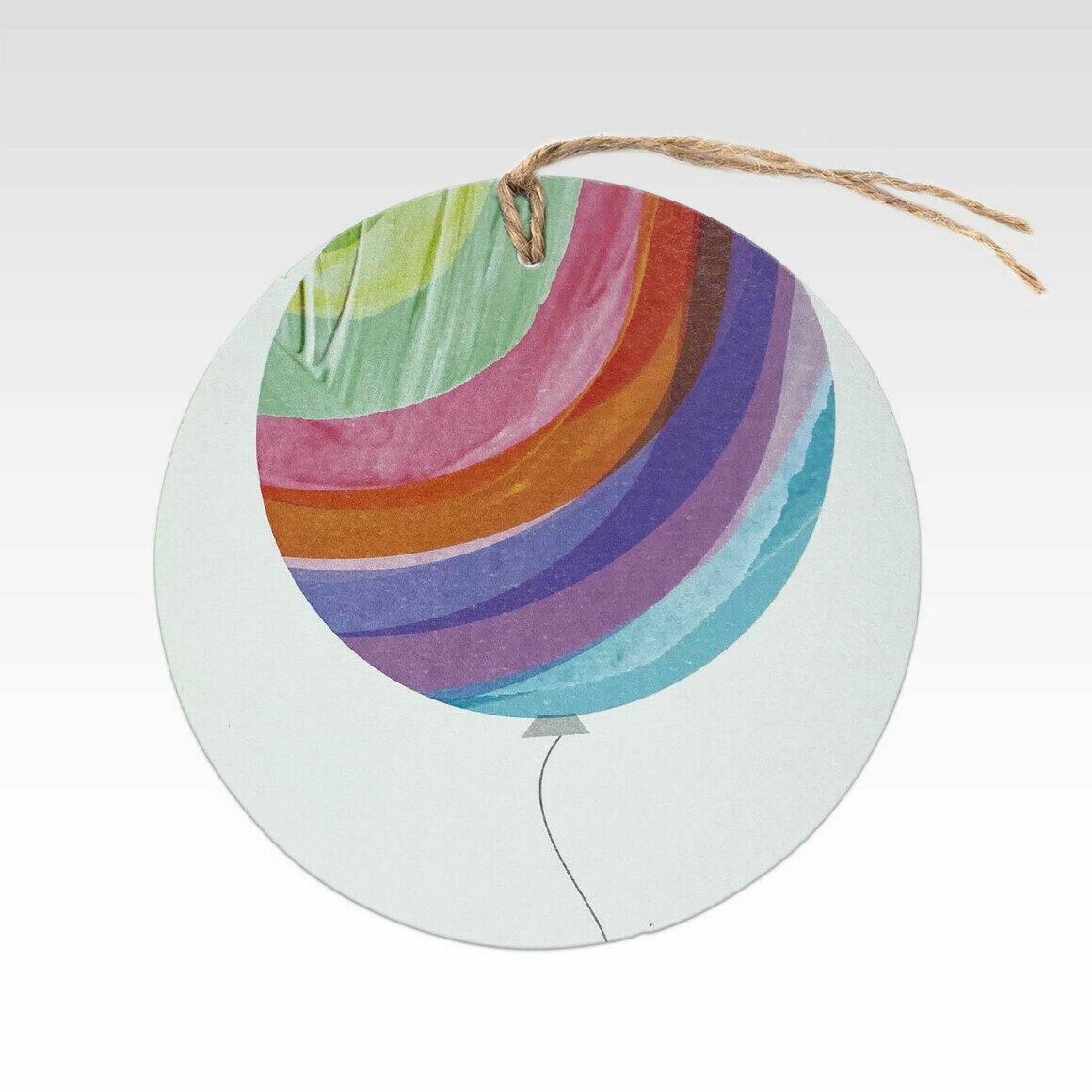 TAG078 – Rainbow Balloon   Trada Marketplace