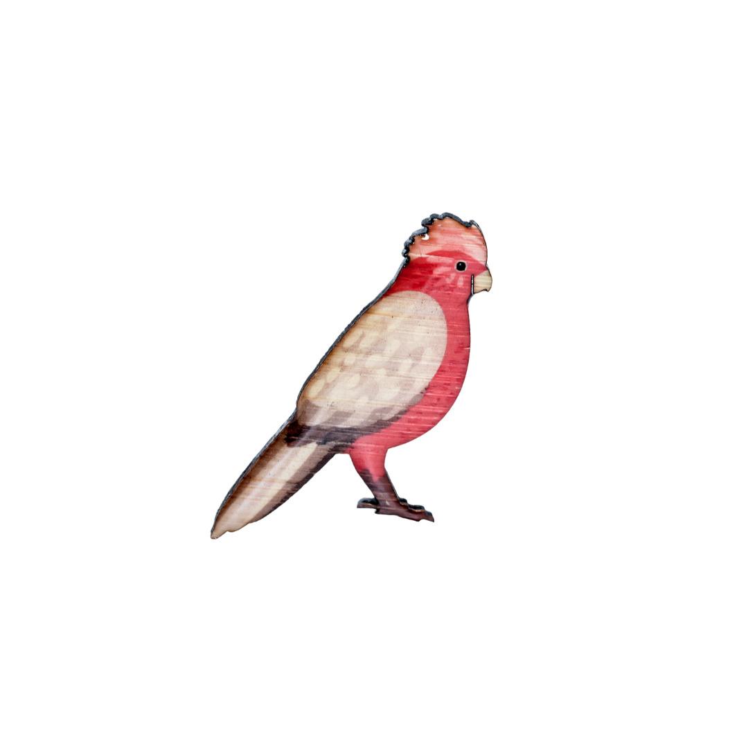 Cockatoo - Galah Brooch   Trada Marketplace