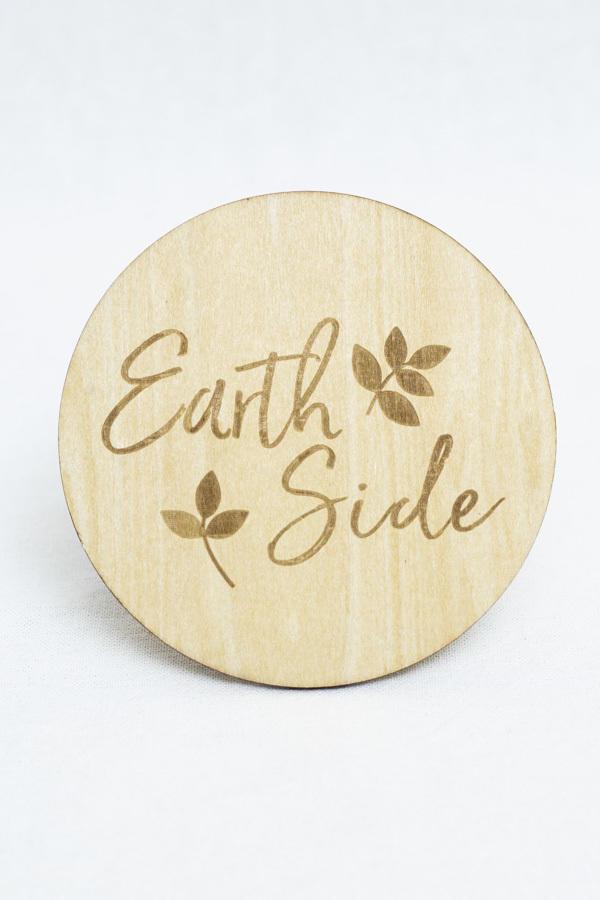 Earth Side Milestone Disc   Trada Marketplace