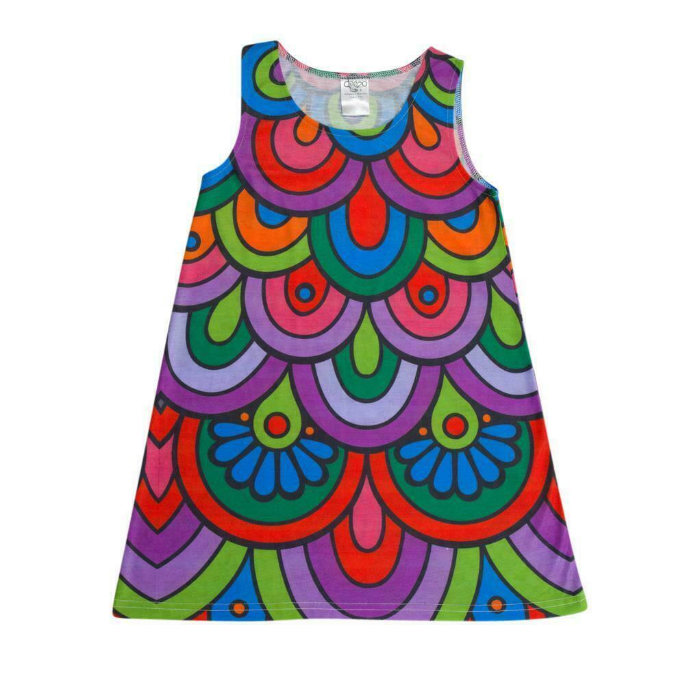 Jungle Flower A-Line Swing Dress | Trada Marketplace