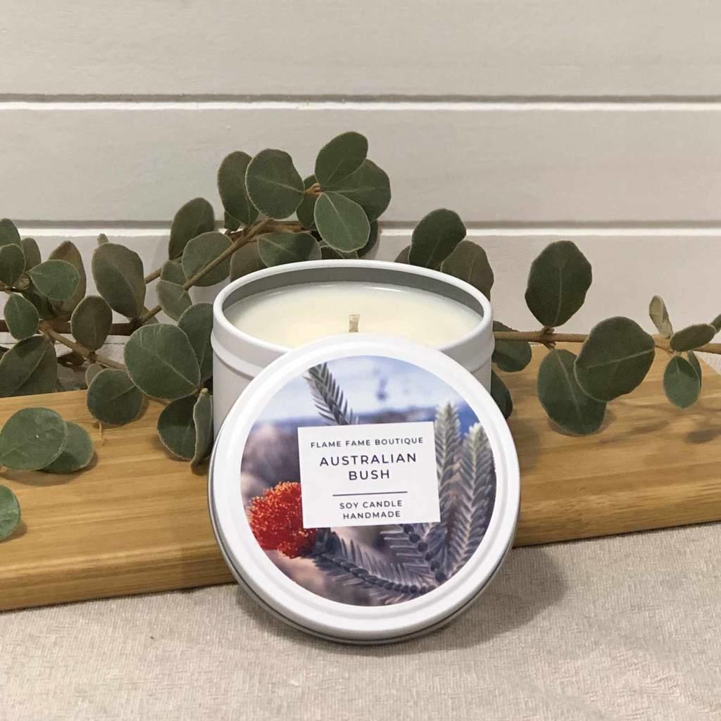 Australian Bush Candle Tin   Trada Marketplace